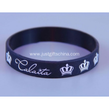 Personalized Adult Imprinted Silicone Bracelets