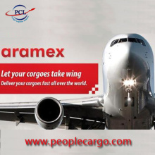 Aramex express rates to the Middle East North Africa South Asia