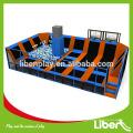 Beste Promotion Preis professionelle große Indoor Trampolin für Kinder und Erwachsene
