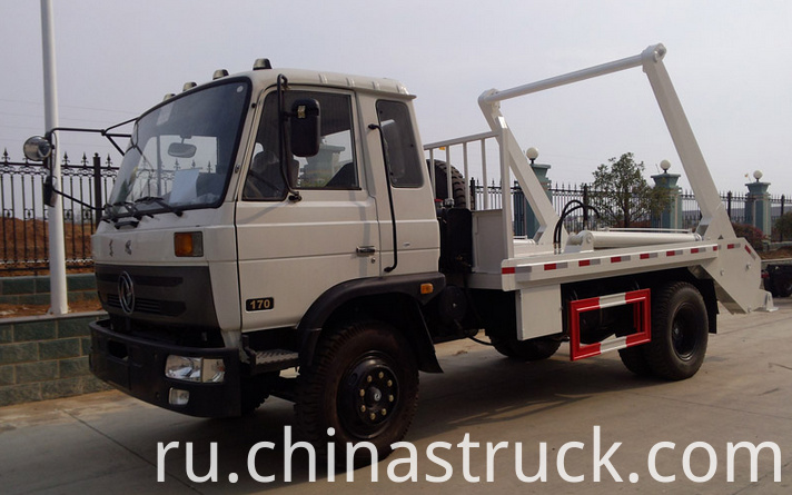 10Ton swing arm rubbish truck