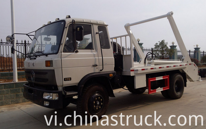 12Ton skip loader refuse vehicle