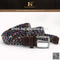Fashion styling low cost selling top knit high quality casual fabric belt