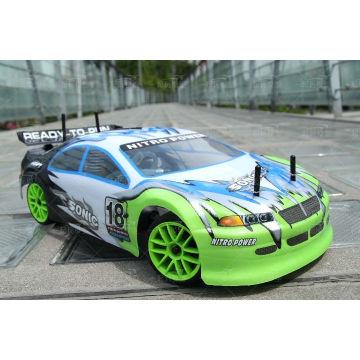 Игрушки автомобили ХПП 2.4 г 1: 10 Привод на 4 колеса RC автомобилей с 26cc