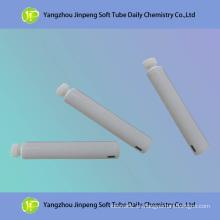 Aluminio y tubo de empaquetado cosmético plástico sin impresión