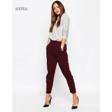 Pantalon de travail raccourci taille haute jambe raccourcie