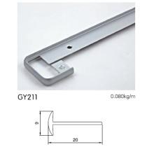 Anodised Aluminium Wardrobe Border Profile