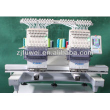 New type TWO heads cap embroidery machine for sale