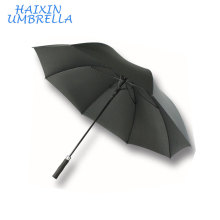 Luxe De Luxe Incassable Long Fabricant Chinois Coupe-Vent Personnalisé Promotionnel Publicité Golf Parapluie avec Mousse Poignée