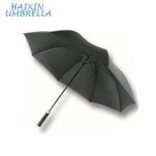 Qualidade de luxo Inquebrável Fabricante Chinês Longo À Prova de Vento Personalizado Promocional Publicidade Golf Umbrella com Espuma Punho