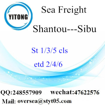 Shantou Port LCL Consolidation To Sibu