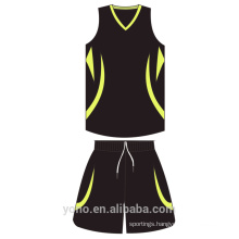 OEM\ODM Wholesale custom basketball apparel mesh breathable Basketball Jersey Full Sublimation Reversible Basketball uniform