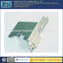 Precision steel alloy laser cutting bracket