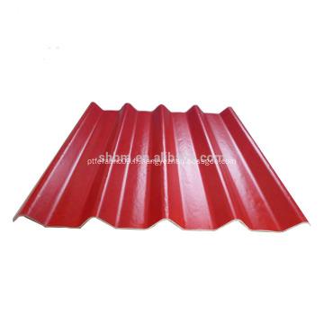 Feuille de toiture de Blockong Mgo UV de largeur de 0.72M