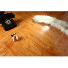 Hogar 12.3mm Mirror Walnut Sound Absorbing Laminate Flooring