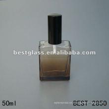 botella de cristal cuadrado del perfume del molde 50ML