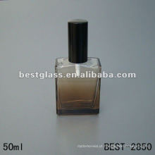 garrafa de vidro de perfume de moldes quadrados 50ML