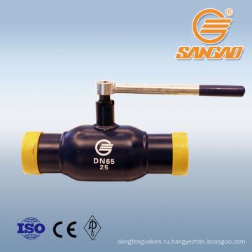 Оптовая большая скидка рычажного типа сварной шаровой клапан гост стандартная сварка шаровой клапан газовый клапан