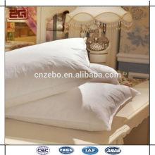 Лучший поставщик в Гуанчжоу Роскошные 90% гусиные пуховые подушки для гостиничного опта