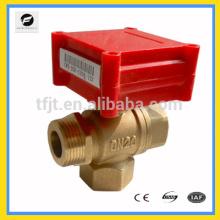3-ходовой Ду15 мини 1.0 серии электрический клапан для торгового оборудования для автоматического управления
