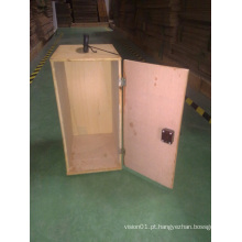Bestscope Microscópio Acessórios Bolsa de transporte de madeira para microscópios de tamanho médio