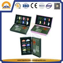Étui de rangement jeu de mignon en aluminium pour fléchettes (HS-2002)
