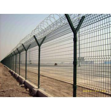 High Security Galvanized Airport Fence för Hot Sale