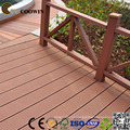 ДПК кофе Лпс/се/СГС/ИСО полый пластичный составной Пол decking 140X25mm