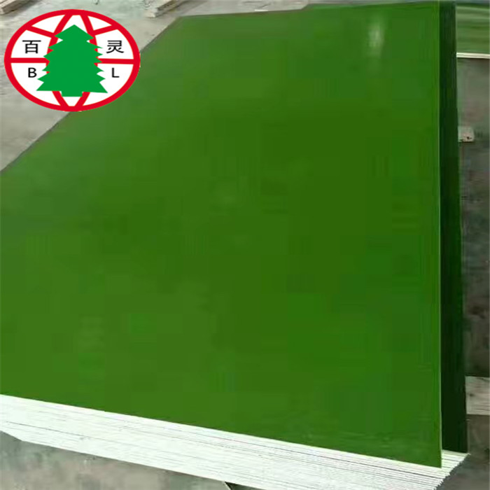 18mm Cheap Plywood Green Color Film Faced Plywood