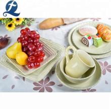 Vente chaude personnalisé vaisselle de table dîner à la maison ensemble en céramique