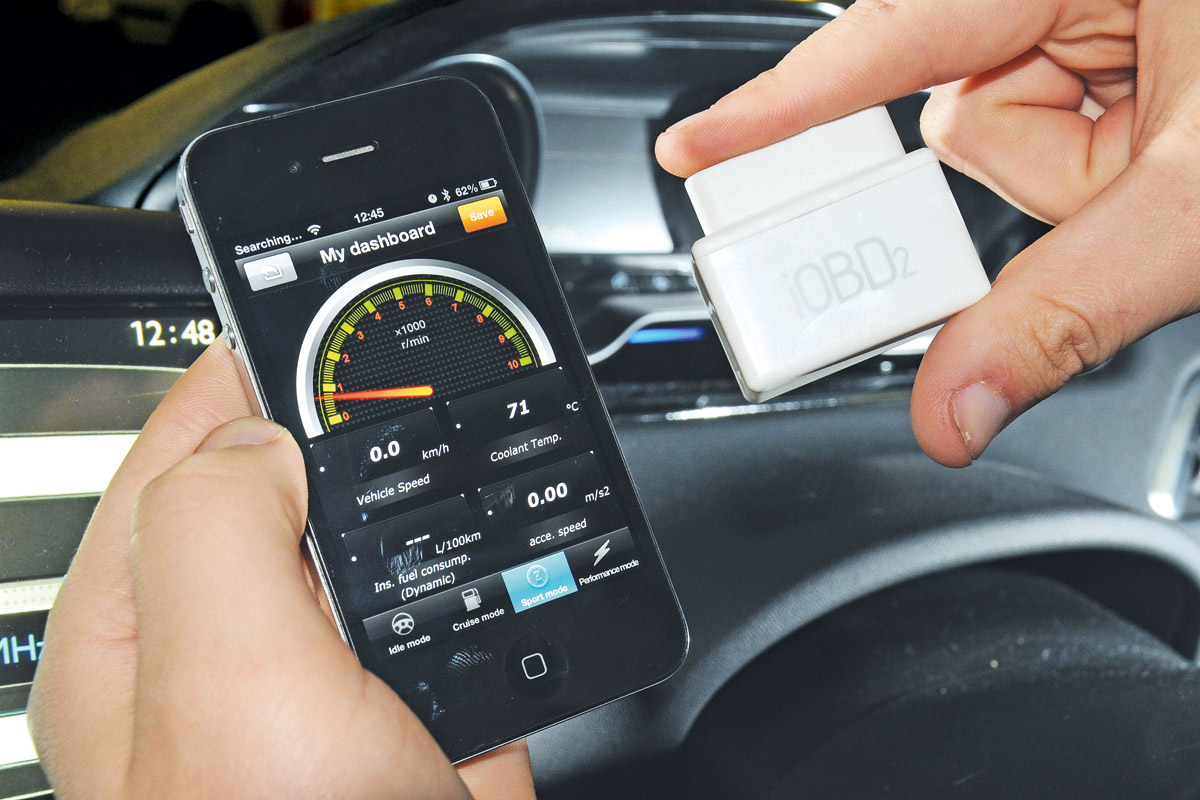 Application-OBD diagnostics