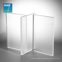 OLEG 10mm frosted acrylic plexi glass panels for sliding door
