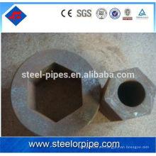 Tubo de acero de alta precisión dentro y fuera del hexágono