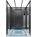 Small Building lifts elevator Black Titanium Mirror Etching Stainess Steel  Passenger elevator