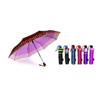 Drucken Satin 3 Falten öffnen und schließen Regenschirme (YS-3FD22083970R)
