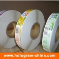 Custom Printed Roll Bottle Food Sticky Label