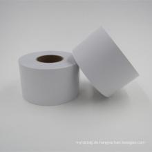 selbstklebende Semi Gloss Aufkleber Papierrolle