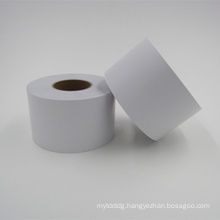 self adhesive semi gloss sticker paper roll