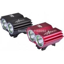 2500 luz conduzida lúmen luz da bicicleta do CREE XM-L2 de JEXREE