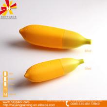 80ml plastic fruit shape bottle