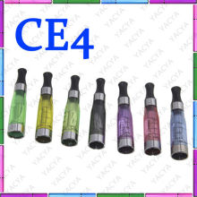 Colorful Transparant Atomizer Vaporizer Ce4 Cartomizer With 600 Puffs With Sgs, Pse