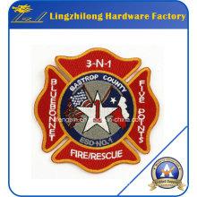Parche personalizado de Fire Resure Logo del bordado de la marca