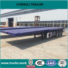 40FT Container Semitrailer Transportation Flatbed Semitrailer