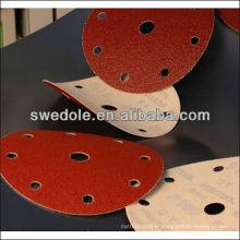 SATC - disques de sable en métal de bonne qualité de 6 pouces / disques de ponçage fabricant professionnel