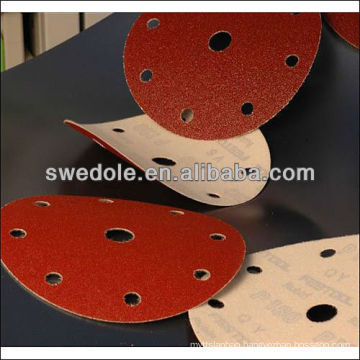 SATC--6 inch good quality metal sand discs /sanding discs professional manufacturer