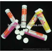 screw on cap cosmetic tube