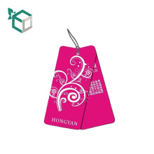 wholesale simple design clothes tag hag with string