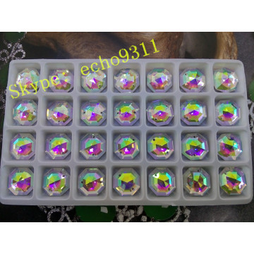 20mm/25mm/30mm Round Ab Diamond Crystal Stones for Garment Jewelry