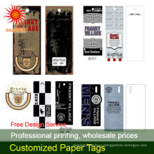 thick paper tag printing
