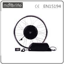 Controlador de kit de conversión MOTORLIFE 2016 1000W mxus e integrado con batería de litio