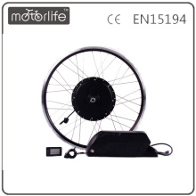MOTORLIFE 2016 1000W mxus e contrôleur de kit de conversion de vélo intégré avec batterie au lithium